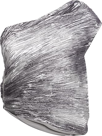 Rosie Assoulin Blusa assimétrica - Metálico