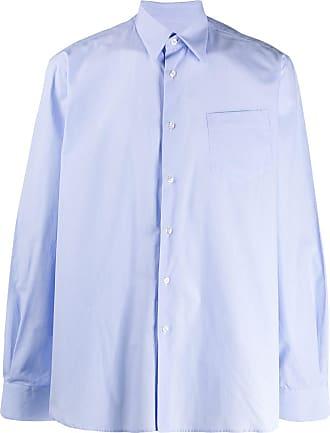 Inês Torcato Camisa lisa mangas longas - Azul