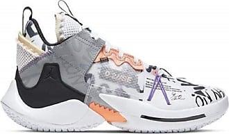Nike Jordan Mens Zer0.2 Se Sneaker, White/Orange Pulse/Black/Particle Grey, 13 UK
