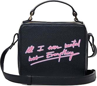 Meli Melo Meli Melo Mini Art Bag All I ever wanted is everything- Olivia Steele Black