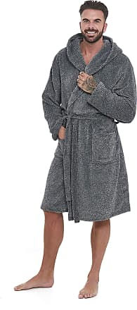 7d4f251070 Myers Super Soft Men Dressing Gown Mens Hooded Bathrobe - Offers a great  combination between quality