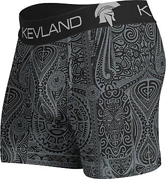 Kevland Underwear CUECA BOXER MAORI ALL BLACK KEVLAND (1, G)