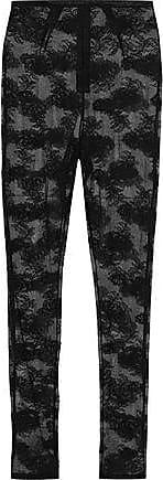 Fleur du Mal Fleur Du Mal Woman Stretch-lace Leggings Black Size XS