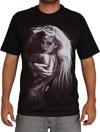 MCD Camiseta Regular Mcd Pose - Preta - GG