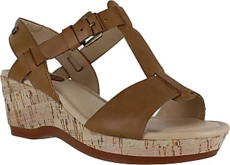 ca8664858501 Hush Puppies Penelope Farris Womens Wedge Heel Ankle Strap Sandals UK 6 Tan