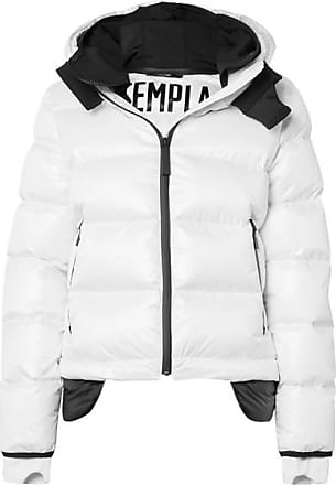 98df24c6528 Templa 10k Nano Gloss Hooded Quilted Shell Down Jacket - White