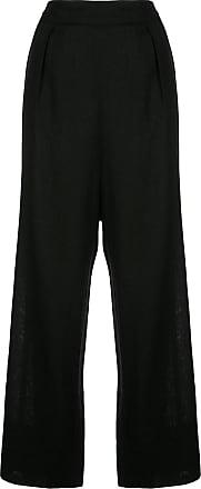 Natori Calça pantalona - Preto