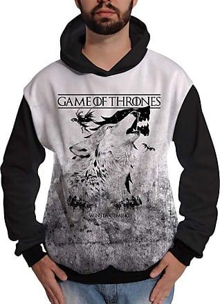 Di Nuevo Blusa de Moletom GOT Game of Thrones Winter Coming