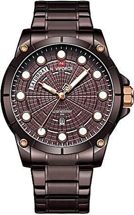 NAVIFORCE Relógio Masculino Naviforce NF9152 CECE Pulseira em Aço - Marsala