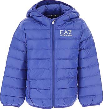 Emporio Armani Doudoune pour Garçon, Veste de Ski Enfant Pas cher en  Soldes, Azuré 47c2a6322111