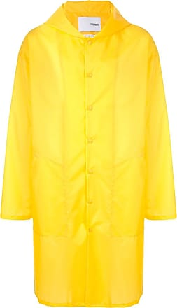 Yoshiokubo packable raincoat - Yellow