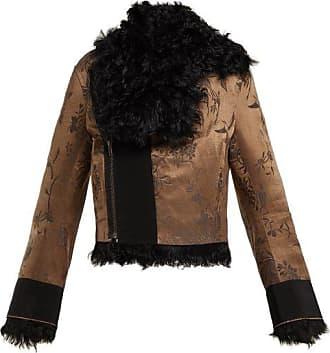 Haider Ackermann Carduus Shearling Jacket - Womens - Black