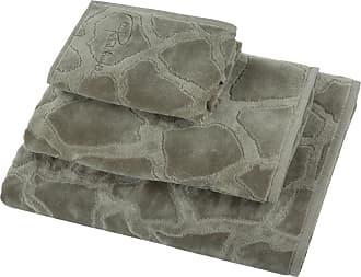 Roberto Cavalli Jerapah Towel - Gray - Hand Towel