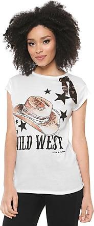 Lez a Lez Camiseta Lez a Lez Wild West Off-White