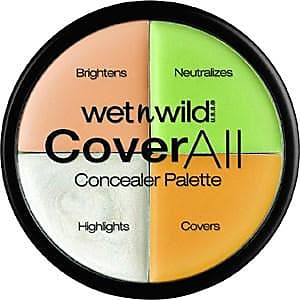 Wet n Wild Make-up Teint Coverall Concealer Palette 6,50 g