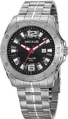 Seculus Relógio Seculus Masculino 23667gosvna1