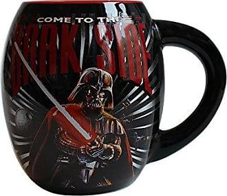 Disney Silver Buffalo SW3844 Star Wars Come to the Dark Side Oval Curved Ceramic Mug, 18-Ounces
