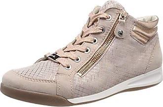 671c74e92fd96f Ara Rom 1234410, Baskets Hautes Femme, Beige (Puder, Copper 19),