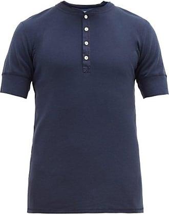 Schiesser Karl-heinz Cotton T-shirt - Mens - Navy