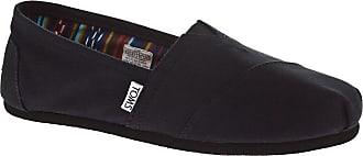 Toms Alpargata Slip-Ons black on black