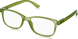 Peepers Unisex-Adult Happy Hour 839125 Square Reading Glasses, Green