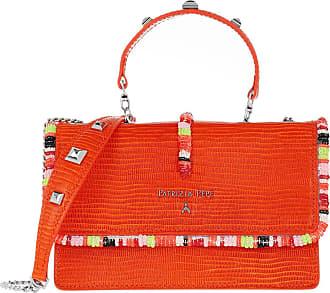 Patrizia Pepe Mini Bag Piping Con Ricamo Shoulder Bag Sunset Orange Umhängetasche orange