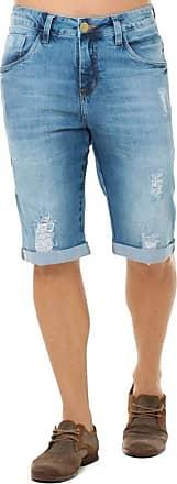 Eventual Bermuda Jeans Masculina Eventual Mid Drop Eventual