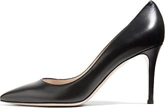 EDEFS Womens Pointed Toe Court Shoes Elegant Pumps Classic Comfort Office Dress Shoes Black Size EU39