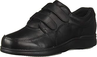 Hush Puppies Womens Power Walker II Loafer, Black Leather, 10 M US