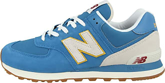 New Balance 574 SCA Sneakers Mens Blue Yellow Blue Size: 11 UK