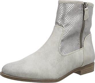 d4010a29d75f Stiefeletten Mit Reißverschluss in Grau  Shoppe jetzt bis zu −70 ...