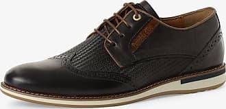 Pantofola D'oro Herren Schnürschuhe aus Leder blau