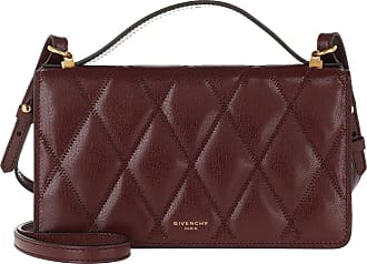 Givenchy Cross Body Bags - GV3 Crossbody Bag Leather Aubergine - red - Cross Body Bags for ladies