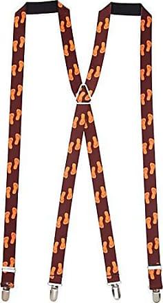 Buckle Down Buckle-Down Mens Suspender-Flip Flops, Multicolor, One Size