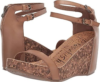 08de73ac9054 Blowfish Himmels (Sand Dyecut) Womens Wedge Shoes