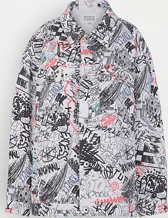 Maison Margiela Graffiti Oversized Denim Jacket
