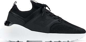 Hogan mesh upper sneakers - Black