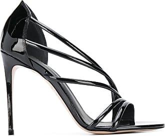 Le Silla Sandália de tiras com salto 110mm - Preto