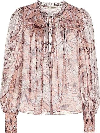 Ulla Johnson Anita floral silk-georgette blouse