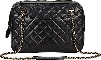 Chanel Black Quilted Matelasse Lambskin Shoulder Bag ca0ba656d46e4