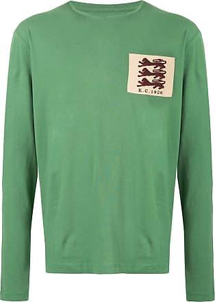 Kent & Curwen embroidered patch T-shirt - Green