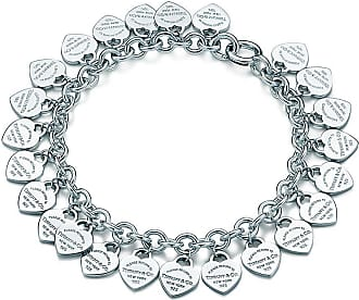 Tiffany & Co. Return to Tiffany multi-heart tag bracelet in sterling silver, large