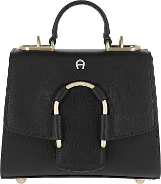 ec1e46684cdb9 Aigner Jade Crossbody Bag Black Umhängetasche schwarz