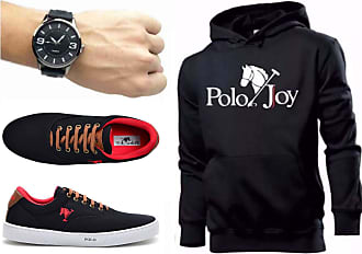 Polo Joy Kit Tênis Masculino Polo Joy C/Moletom e Relógio (38)