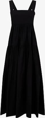 Three Graces London Cosette Maxi Dress in Black