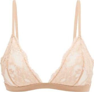 La Perla Souple Lace Triangle Bra - Womens - Nude