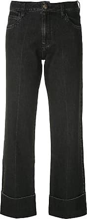 Andrea Bogosian Calça jeans Pry reta - Preto