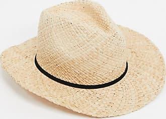 Bershka Cappello di paglia naturale marrone