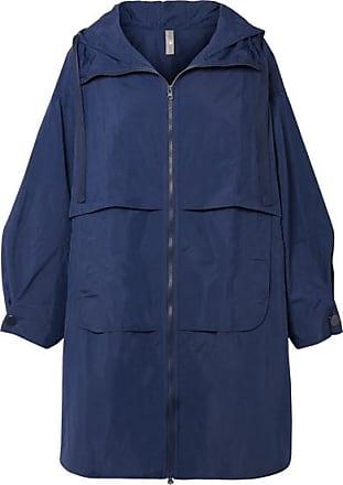 adidas by Stella McCartney Oversized Shell Hooded Parka - Indigo