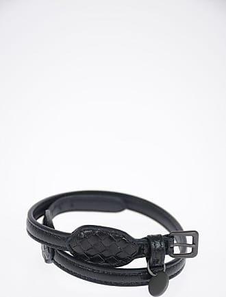 Bottega Veneta Leather Bracelet size L